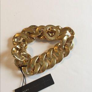 Marc by Marc Jacobs turn lock bracelet